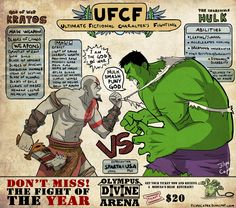 #GodOfWar #Kratos Ghost of Sparta vs Incredible #Hulk : By Filipe Capra