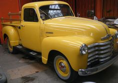 Chevrolet Pick Up, 1952.