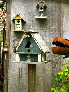 *Birdie houses