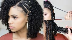 How To Get A Defined Twist Out | Natural Hair [Video] - https://blackhairinformation.com/video-gallery/get-defined-twist-natural-hair-video/
