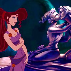 "Megara (Susan Egan), Hercules' love interest, in ""Hercules"""