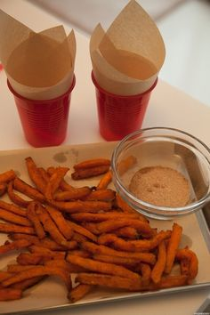 Sweet Potato Fries Using Tefal ActiFry