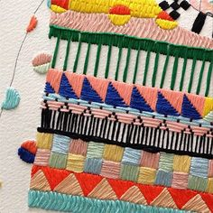 Mejores proyectos de bordado del 2013 / Best embroidery projects of 2013 / Meilleurs projets de brodérie de 2013 - Izziyana Suhaimi http://instagram.com/p/dRA-MulovS/#