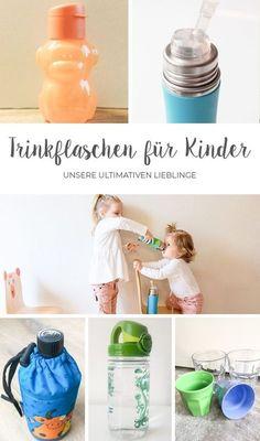 Du bist auf der Suche nach der perfekten Trinkflasche für dein Kind? Wir zeigen dir unsere 5 Lieblinge, ideal für unterwegs.