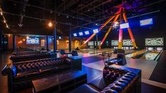 Brooklyn Bowl London----Design your own event for up to 1,000 guests. With 12 bowling lanes, three bars, 11 screens and room for a gig, you can mix and match your entertainment, however you like.