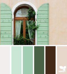 Mint green palette inspiration