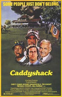 Caddyshack. A man who is licensed to kill vermin by the government of the United Nations.
