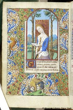 Book of Hours, MS M.348 fol. 258v - Images from Medieval and Renaissance Manuscripts - The Morgan Library & Museum