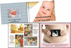 We've heard of baby books, but what about a Pregnancy Photobook? Pregnancy Books, Baby Books, Expecting Baby, Baby Makes, Baby Scrapbook, Ultrasound, Photo Book, Fundraising, Baby Shower