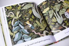 The Little Gardener by Emily Hughes. Flying Eye Books