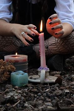 """"""" THE BASICS OF CANDLE MAGIC Starting out in candle magick can be intimidating, what with all the candle colors,types of candles,herbal and astrologial associations,and purposes of. Magick Spells, Candle Spells, Witchcraft, Celtic, Under Your Spell, Eclectic Witch, Witch Spell, White Witch, White Magic"""