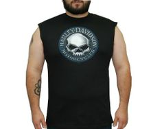 Harley-Davidson® Mens Into Wrath Chrome Willie G Skull Black Sleeveless Muscle T-Shirt (X-Large) Harley-Davidson (Mens),http://www.amazon.com/dp/B00C2D0JS6/ref=cm_sw_r_pi_dp_Mxe-sb10VJYWHHKW