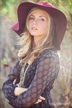 Hat.  Amazing photo accessory