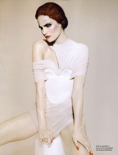 Missy Rayder  by Miguel Reveriego