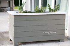 drewniana donica ogrodowa - DIY — H O U S E L O V E S
