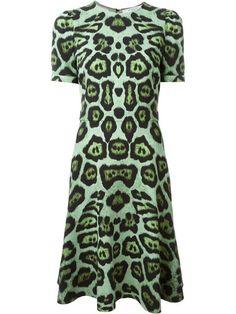Givenchy leopard print skater dress