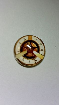 1 inch round Handmade steampunk cross Glass cabochon for wire wrapping, jewelry supply, supplies, pendant making beading…