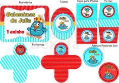 Ateliê Bexiga Kit Festa Digital Tema Galinha Pintadinha Encomendas e Orçamentos: ateliebexiga@gmail.com