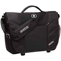 Amazon.com: Ogio 417015 - Black Upton Laptop Messenger Bag, Black: Clothing