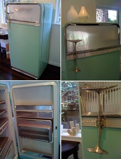 My 1956 Frigidaire Imperial Cold Pantry refrigerator. Made by General Motors.