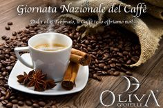 """Dal 1 Febbraio al 6 Febbraio, in occasione della giornata Nazionale del Caffè che si terrà il 6/02/2017, per ogni acquisto di bigiotteria, gioielleria ed orologeria, saremo lieti di offrirvi una buona """"Tazzulella e Cafè""""... Un modo come l'altro per condividere con voi una tradizione che per noi partenopei è indelebile da anni... Vi aspettiamo! #OlivaGioielli #Evento #Caffè #GiornataNazionaledelCaffè #Jewels #Gioielli #Jewelry #Gioielleria #Bijoux #Bigiotteria #Watches #Orologi #Napoli…"""