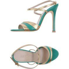 Marc Ellis High-heeled Sandals ($73) ❤ liked on Polyvore