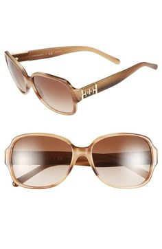 So lovely. These square tortoise sunglasses will be a staple this season | Tory Burch