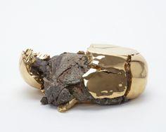 Gold decorated stone-burst ball - Takuro Kuwata - Salon 94