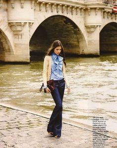 Only French women dress this effortlessly well