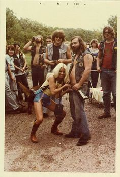1970's bikers Mom? Dad? Is that you guys?