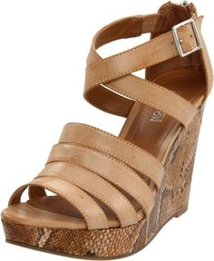 Kenneth Cole REACTION Womens Live From Platform SandalFawn95 M US *** Check out this great product.