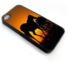 Wild Horse Sunset - iPhone 4 Case, iPhone