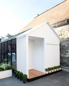 WANT Les Essentiels de la Vie unveils The Garden House at Pitti Uomo fills with an array of beautiful goods of bags and accessories. Micro House, Tiny House, Pavillion, Pergola, Bungalows, Exterior, Garden Office, Glamping, Architecture Design
