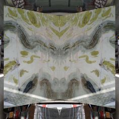 Fantasy Green Marble Slabs New Arrival🌹🌹🌹 Marble Slabs, Marble Stones, Marble Interior, Green Marble, Soft Colors, Fantasy, Fashion Trends, Soothing Colors, Fantasy Books