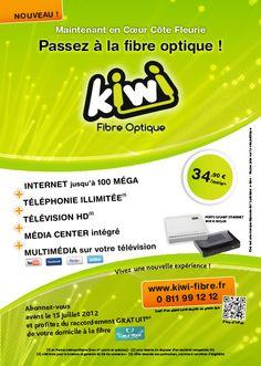 Flyer Kiwi Fibre Optique
