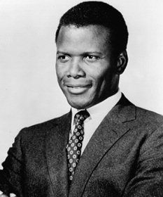 sidney portier, a wonderful actor and so dedicated to his craft. A man of great character.