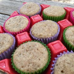 Mini banana muffins! These super soft muffins are made with fresh bananas and a hint of cinnamon! A great way to start a wonderful day!