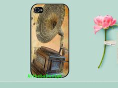 Restore ancient ways the phonograph . iphone 4 by AlibabaDesign, $6.88