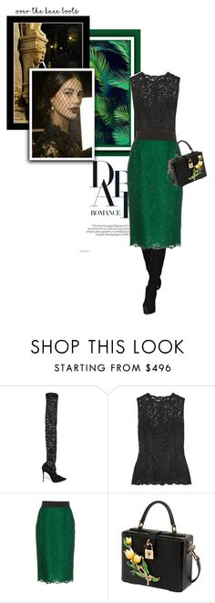 """""""Maria-Teresa"""" by theitalianglam ❤ liked on Polyvore featuring Dolce&Gabbana, Boots, dolcegabbana and mariateresa"""