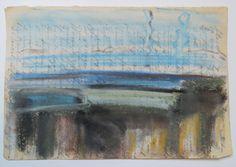 Midden Delfland, bij de Gaag in de winter Gouache, Painting, Painting Art, Paintings
