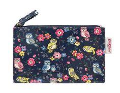 Cath Kidston mini owls & flowers zip purse