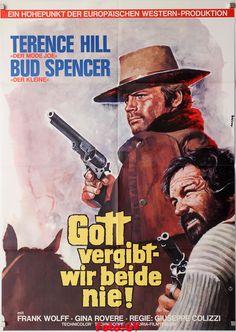 Gott vergibt..|Dio perdona … io no! Bud Spencer T.Hill Original-Kinoplakat1972