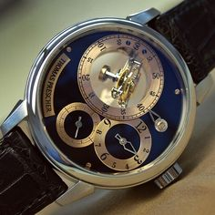 1bc6ab0d953 The world s only triple-axis flying tourbillon wristwatch by Thomas  Prescher. A triple-