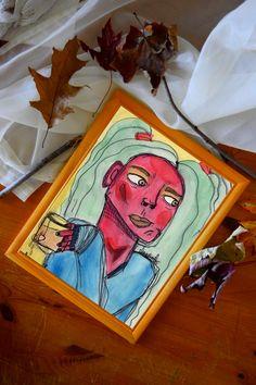 Aquarelle réalisée par l'artiste Claudia Chartier en 2017. Etsy Seller, Princess Zelda, Creative, Fictional Characters, Water Colors, Artist, Fantasy Characters