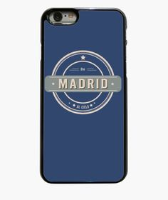 Creative Phone case De Madrid al cielo
