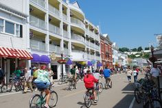America's only car-free city.  Cars were banned from Mackinac Island in 1898 and have never been allowed since.  The 500 residents of the island live with cleaner air, less stress & fewer injuries.  15,000 tourists arrive each year to marvel at what the world might have been