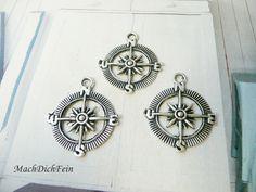 10 x Kompass von MachDichFein auf DaWanda.com