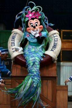 Minnie as a mermaid