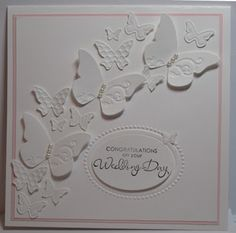 Beautiful all white card