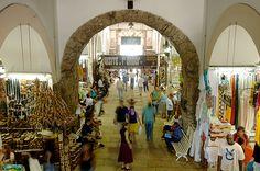 BAHIA - Salvador - Mercado Modelo (interior).